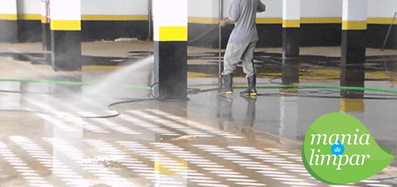 Mania de Limpar - Serviços de Limpeza Profissional - Limpeza de Galpões